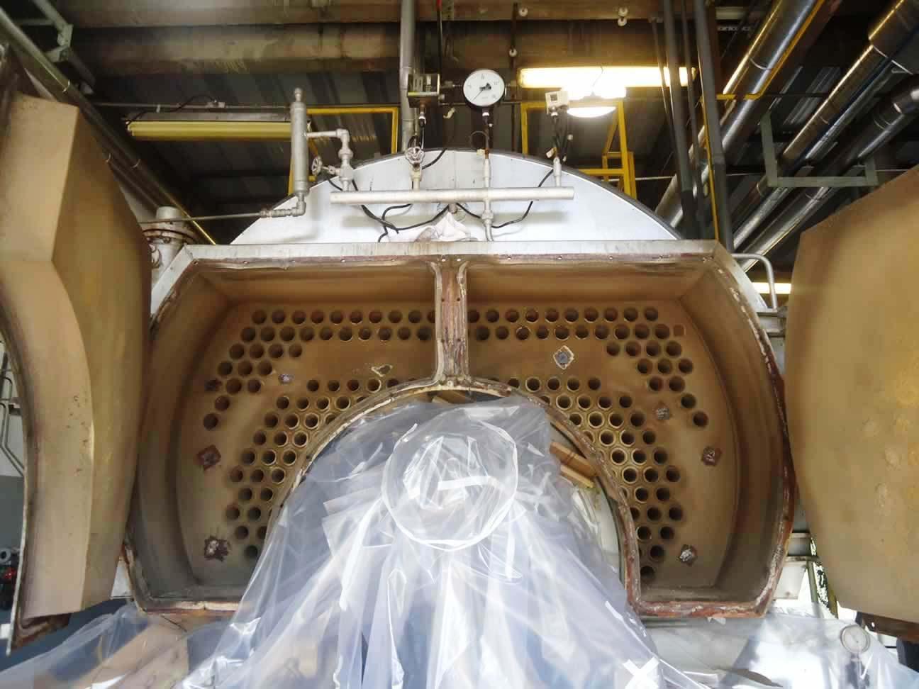 Inspeção em caldeiras aquatubulares