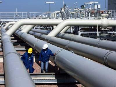 Inspeção em tubulação de gás