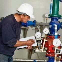 Inspeção de válvulas de segurança e alívio