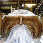 Inspeção de segurança em caldeiras e vasos de pressão